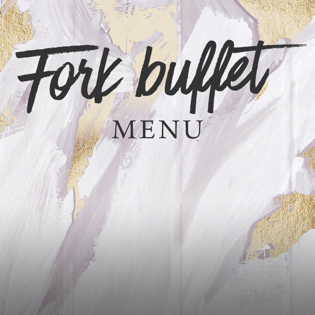 Fork buffet menu at The Prince of Wales