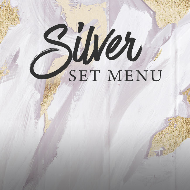 Silver set menu at The Prince of Wales